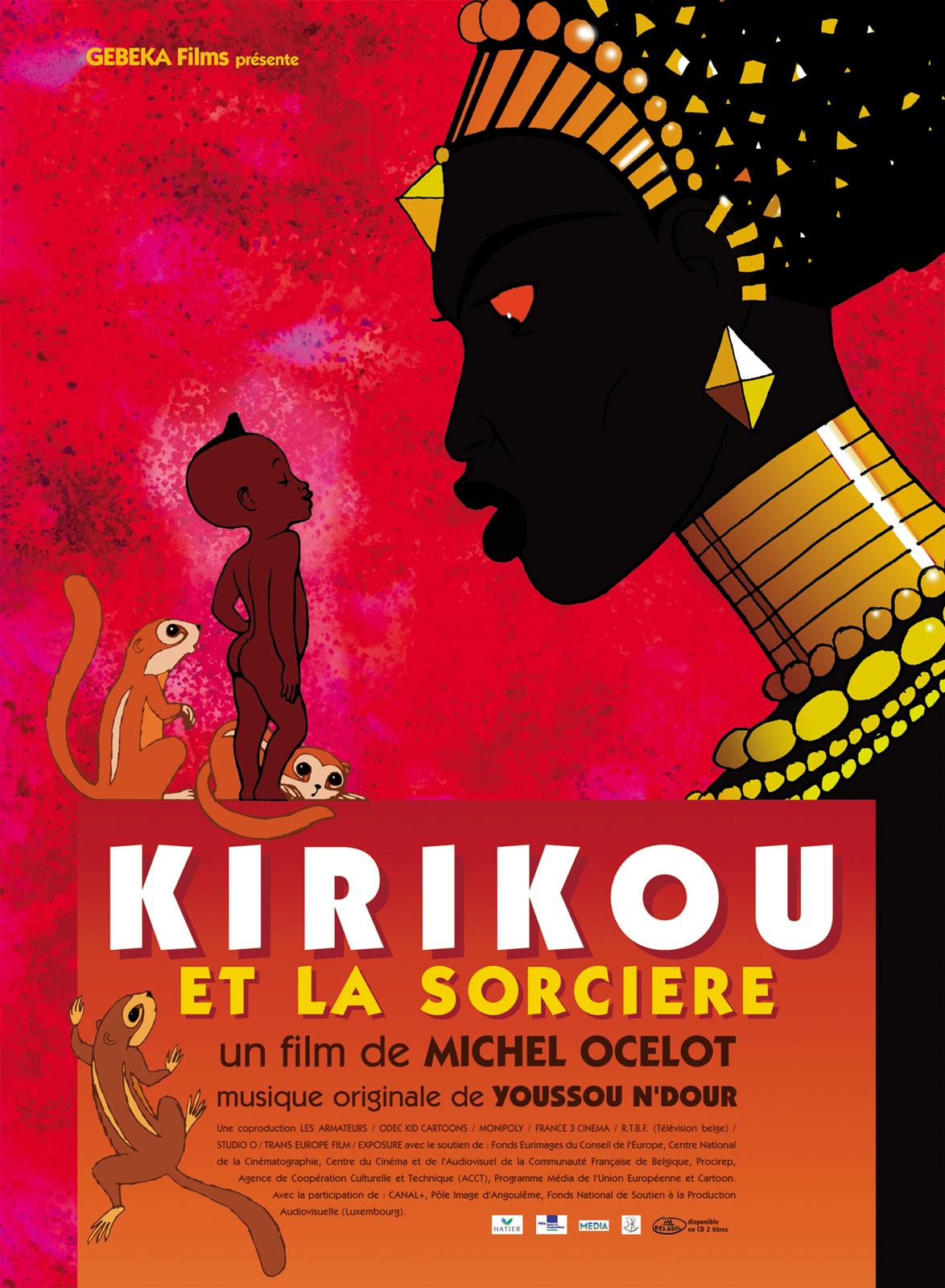 [Ciné-Villeneuve] Kirikou et la sorcière @ Espace 600