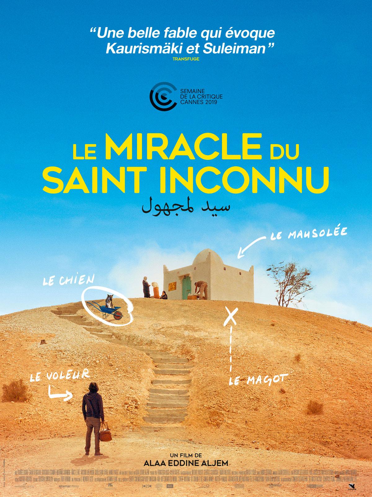 [Annulé][Ciné-Villeneuve] Le Miracle du saint inconnu @ Salle polyvalente des Baladins