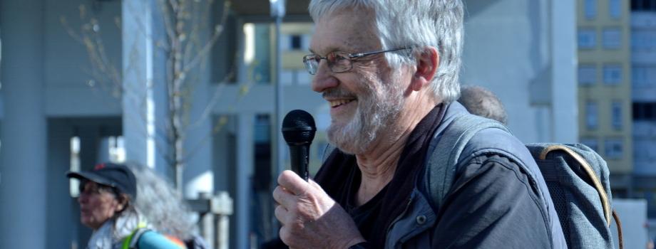 Mort d'André Béranger, instituteur et militant de la Villeneuve