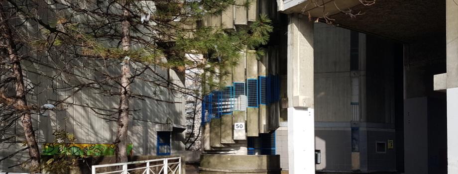 Au 50 place des Géants, des locataires mobilisés