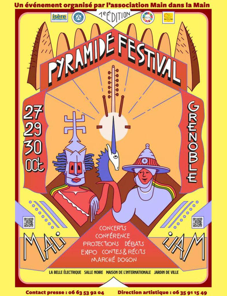 Festival Pyramide @ Le Transfo, Salle Noire, Maison de l'international, Jardin de ville, La Belle Électrique